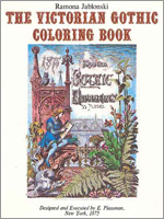 The Victorian Goithic Coloring Book