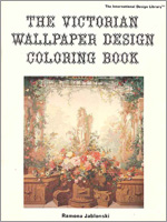 The Victorian Wallpaper Design Coloring Book